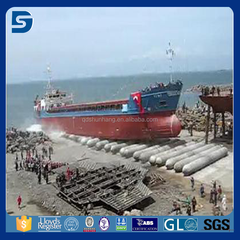 inflatable floating rubber ship lifting pneumatic boat salvage airbags