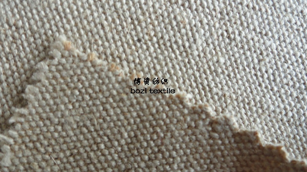 Supply of linen flax cotton pure linen clothing shoes material
