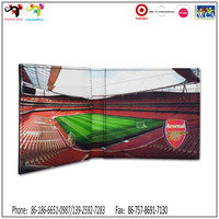 Arsenal football soccer club stadium official gift men branded wallet