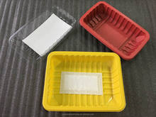 Vacuum Forming Large Disposable Plastic Box For Fresh Produce Packaging