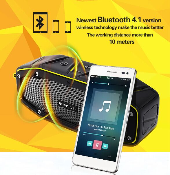 Audio Player Mini portable stereo digital speaker, Wireless Bluetooth Speakers with Strong Bass