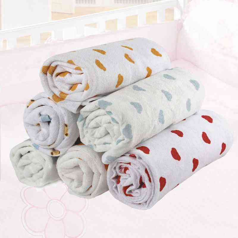 Top Sale Cute Printed Terry Diaper Waterproof Cotton Waterproof Baby Changing Mat/Baby Changing Pad