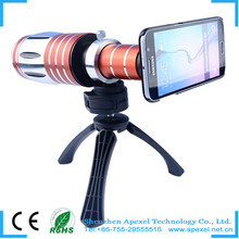 Mobile Phone Lens Universal 8X Zoom Telescope Camera Telephoto Lens for iPhone 4 4S 5 5C 5S 6 Plus Samsung Galaxy S3 S5 Note 4