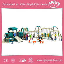 Interesting safe exciting children play ground outdoor play for kids activities and games equipment AP OP 11209