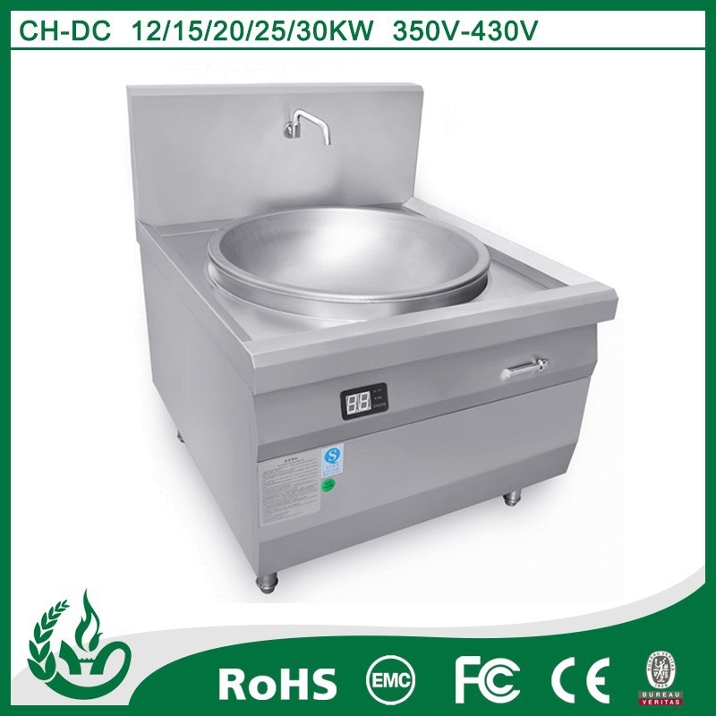 China Electrical kitchen appliances commercial induction range cooker