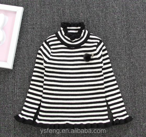 Wholesale Baby Clothes Cashmere Wool Sweater New Design For Girl