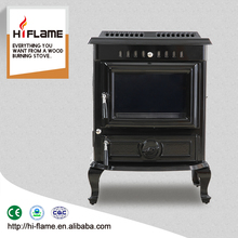 2016 Best cost of high quality wood stoves cast iron wood burning fire place for home appliance HF446E Black