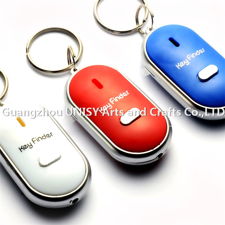 New products hot promotional corporate gift item wireless whistle key finder key chain key ring
