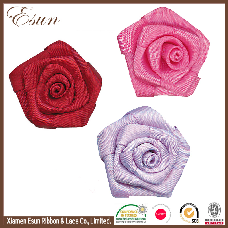 wedding car ribbon rose