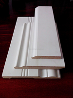 MDF Baseboard Coated with Gypsum or White Primer