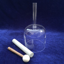 SUCCESS 6''-10' Hand Held Clear Crystal Singing Bowl