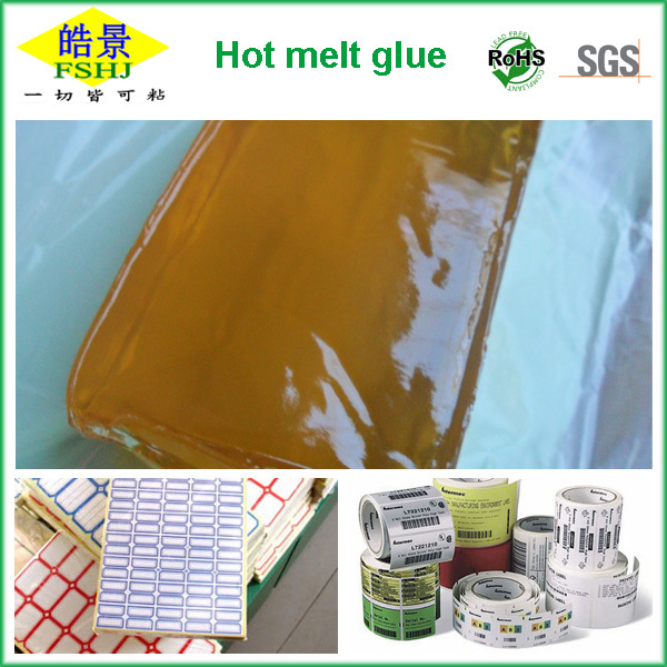 Block HMPSA-Hot Melt Pressure Sensitive Adhesive for labelling