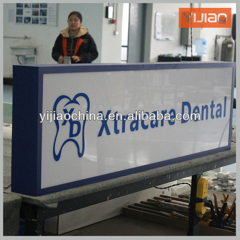 shanghai manufacturer taxi top advertising light box