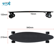 10 Layers Maple 1 Layer Fiber Boosted Electric Skateboard Kit