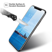 Premium Full Coverage Tempered Glass Screen Protector Suits For iPhone X