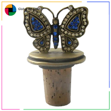 custom animal shape funny metal wine bottle stopper