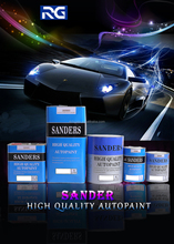 Sanders Car Refinish Paint Acrylic Product