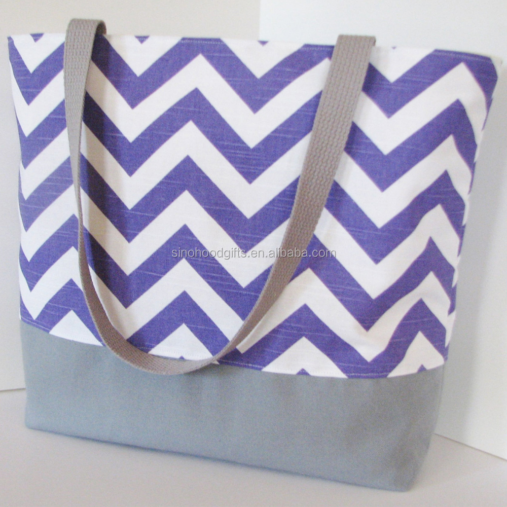 Customized Cheap OEM Eco-friendly stripe print straw Beach Bags