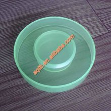 plastic injection blue plastic cover for plastic cups or bottle