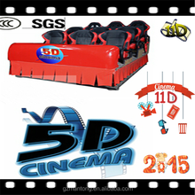 Chian factory Full set of 3d 5d 6d 7d 9d 12d XD cinema equipment with motion chair for sale