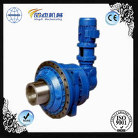 P series right angle small hydraulic planetary gearbox