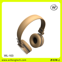 cheapest china high quality headband stereo headphones custom branded headphones supplier