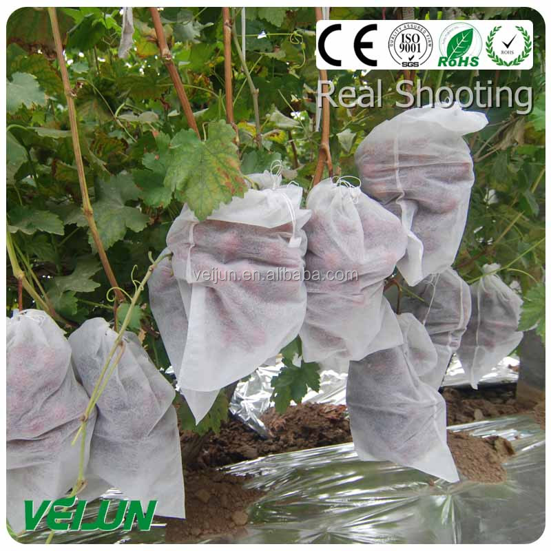 waterproof grape cover brethable nonwoven fruit cover accept OEM/ODM Nonwoven Cross Design Fabric UV added