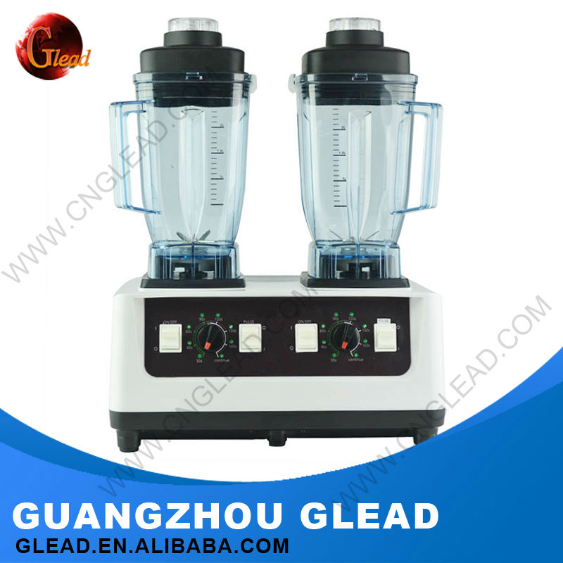 2016 Glead Large Commercial Hand Powered blenders for smoothies