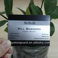 Factory Price! Stainless Steel Black Business Card