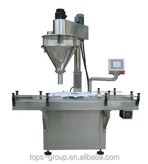 Soybean protein powder & milk powder&Yeast powder filling machine/auger filler