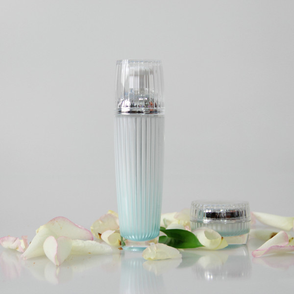 beauty design acrylic loyion bottles,cream jars,cosmetic container