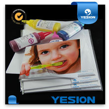 Wholesale double side glossy photopaper with yesion black logo