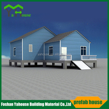 Panama favorable modular prefab house, movable prefabricated villa house for sales
