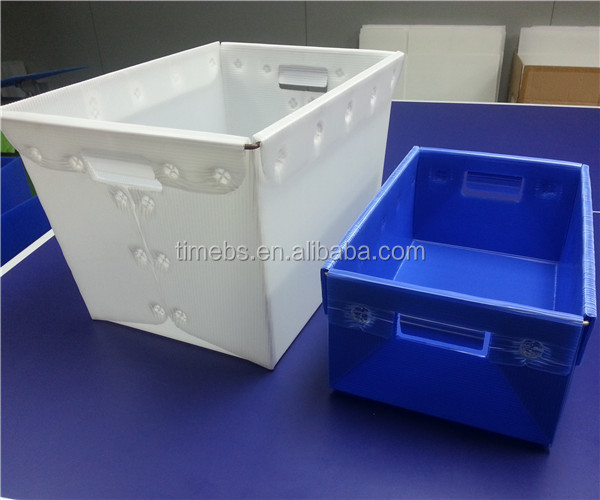Pp corrugated plastic shipping boxes,coroplast moving bins