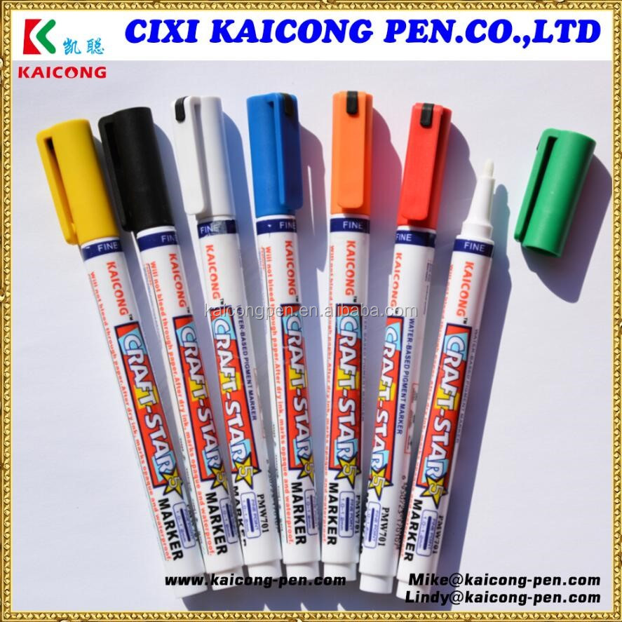 Water-based iPOSCA Paint marker Acrylic ink Marker Decoink Valve Action Chalk Marker