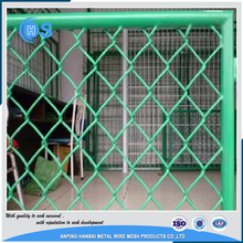 Top quality7ft chain link fence, galvanized and PVC coated chain link fence for low price