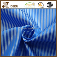 Wholesale Mens Suit Jacket Lining 100 Polyester Striped Fabric