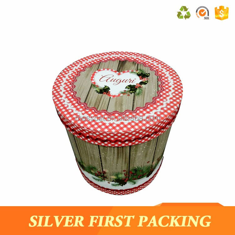 Round Flower Box On Boxes Packing Supplier