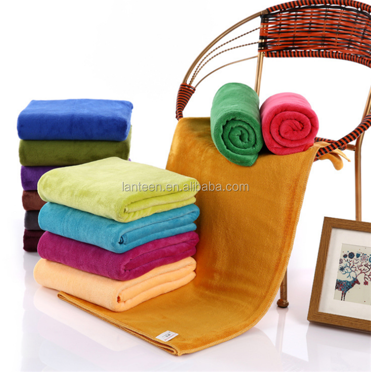 Sell towel microfiber quick dry feature polish thick car cleaning towel bath towel60*160cm