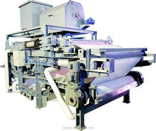 Automatic stainless steel belt filter press with best price