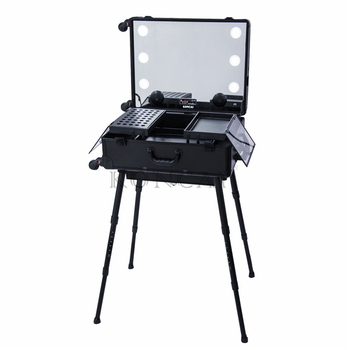 Professional KONCAI Customized Beauty Cases Trolley
