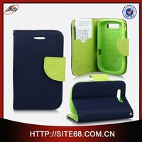Factory wholesale combo cell phone leather cover for blackberry BB9800