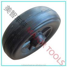 7.5x2.5 small hard plastic tyre and hollow plastic toy wheels