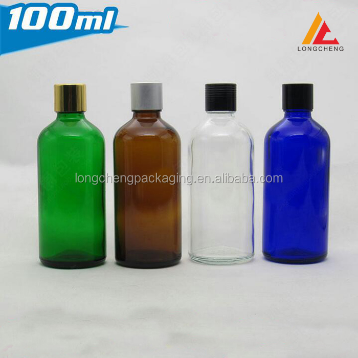 100ml screw cap cosmetic bottle for essentialoil/cleaning oil