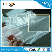 Hot sales Transparent embossed vacuum bags for Food Usage