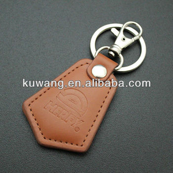 Cheap Promotional Leather Keyring