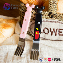 EPK new arrival cartoon design stainless steel fork for children