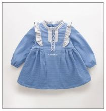 Frock Design For Baby Girl Vintage Dress Cotton Kids Dress