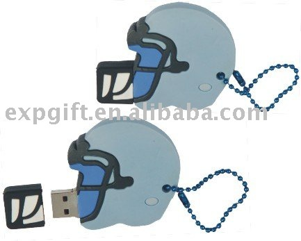 Sport Helmet USB Flash Drive / Rugby Gear USB Flash Drive / Rugby Helmet USB Flash Drive