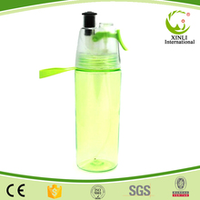 Creative Sports Water Bottle Spray Drinking Dual Bottle